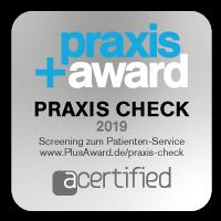 Praxis+ Qualitätssiegel 2019